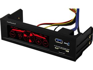 AeroCool CoolTouch-R Panel Fan Controller with System Temperature Monitoring